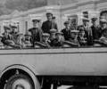 Fishermen's charabanc outing to Winchester