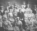 Wrens (WRNS) and sailors at Hamworthy Naval Base