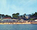 Branksome Chine from the sea