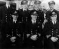 """H.M.S. Poole"" officers"