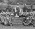 Wounded Soldiers, Poole Park Bowling Green 1915.