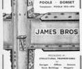 Advert for James Bros.