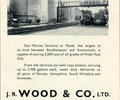 Advert for J.R Wood & Co.