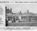 Advert for Bonnett's general Stores.