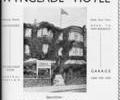 Advert for Wynglade Hotel.