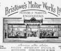 Advert for Bristowe's Motor Works Ltd.