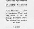 Advert for Ecclesfield Apartments.