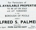 Advert for Alfred S. Palmer.