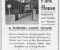 Advert for East Park House.
