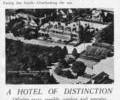 Advert For Riveria Hotel.